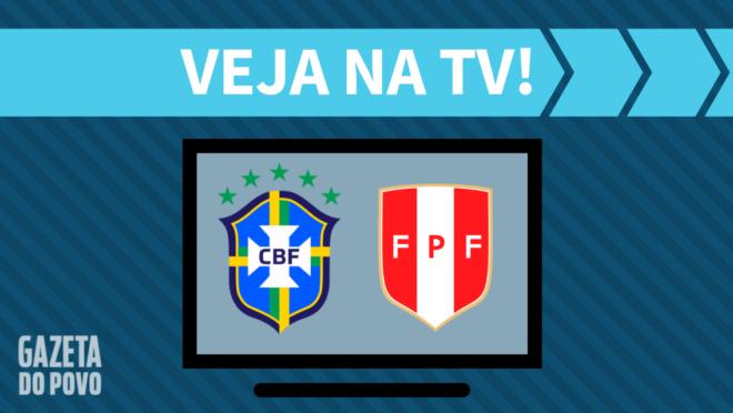 Brasil x Peru: veja na TV