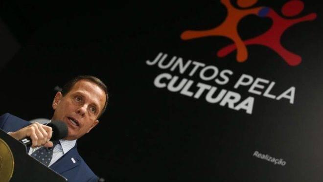 O governador do Estado de São Paulo, João Doria.