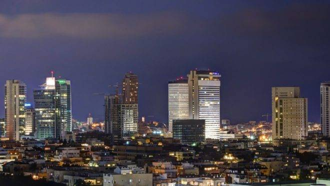 Cidade de Tel Aviv.