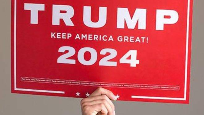 Meme postado pelo presidente Donald Trump sugere terceiro mandato