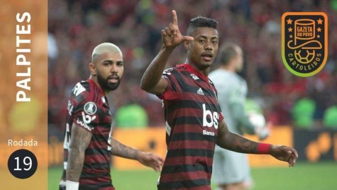 Palpites da 19ª rodada do Brasileirão.