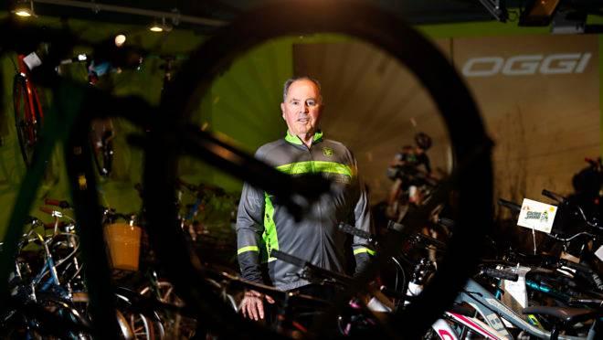Jaime Nunes Silveira é o fundador da tradicional loja de bicicletas Cicles Jaime