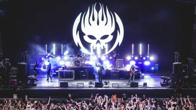 The Offspring na tour de 2018.