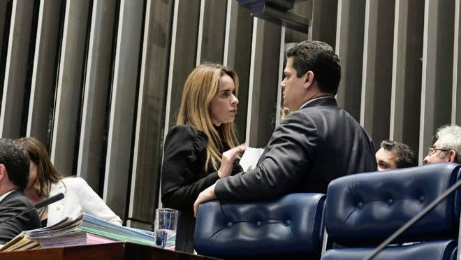 A relatora da Nova Lei das Comunicações, senadora Daniella Ribeiro