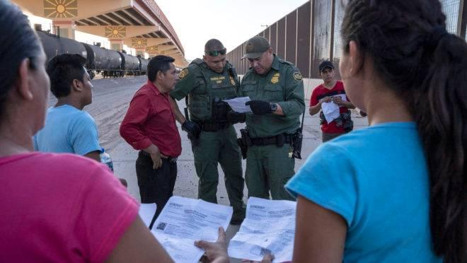 imigração na fronteira dos EUA