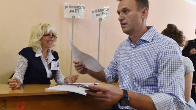 Ativista da oposição russa Alexei Navalny