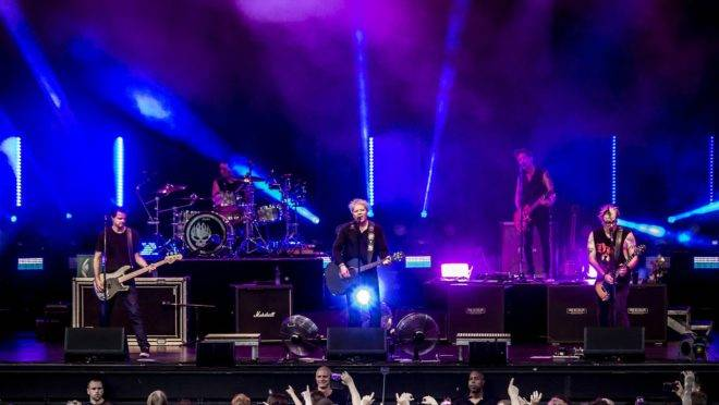 The Offspring em show de 2018.