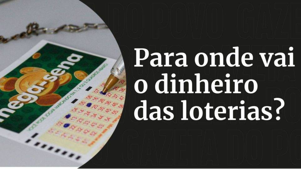 Dinheiro da Mega-Sena: saiba que setores do país lucram com as apostas