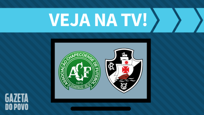 Chapecoense x Vasco: veja na TV
