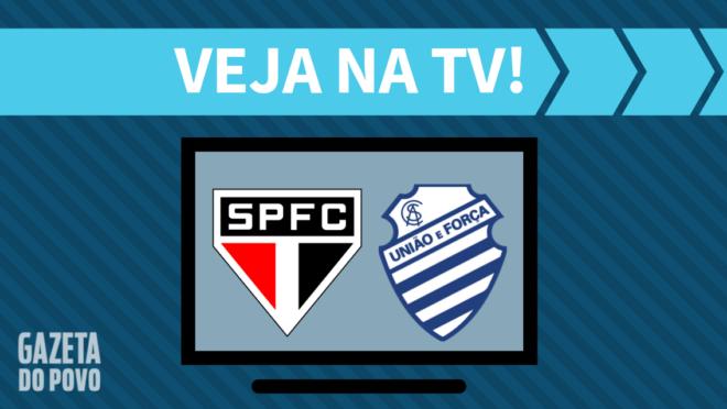 São Paulo x CSA: veja na TV