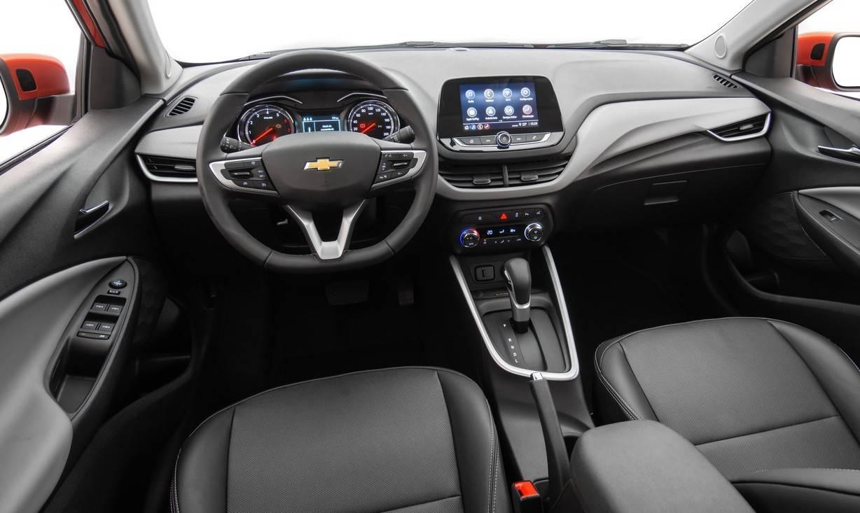Interior está mais moderno na segunda geração. Foto: Chevrolet/ Divulgação