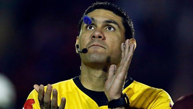O árbitro cearense Luiz César de Oliveira Guimarães