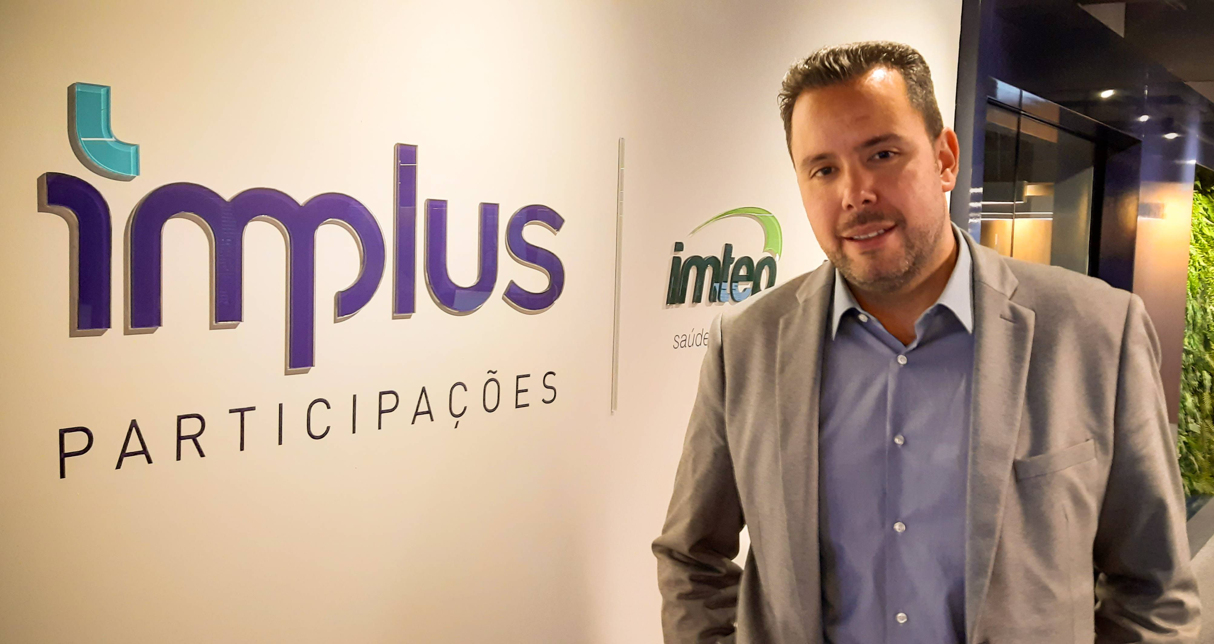 O diretor-executivo do grupo, Alexandre Berger. Foto: Divulgação/Implus.