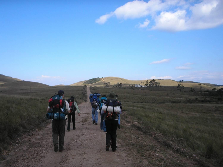 Como os Campos do Quiriri ficam em uma propriedade particular, é preciso autorização para acessá-los. Foto: Turismo Campo Alegre/divulgação