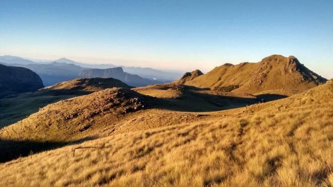 São 30 cumes que podem ser acessados a partir de Campo Alegre, em Santa Catarina.