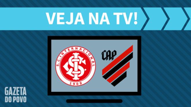 Internacional x Athletico: veja na TV