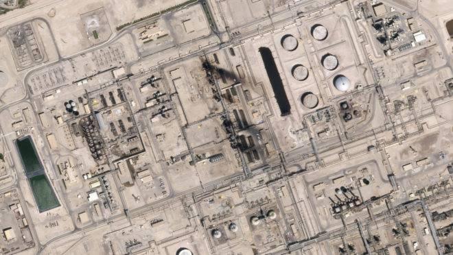 Ataque contra instalações de petróleo na Arábia Saudita