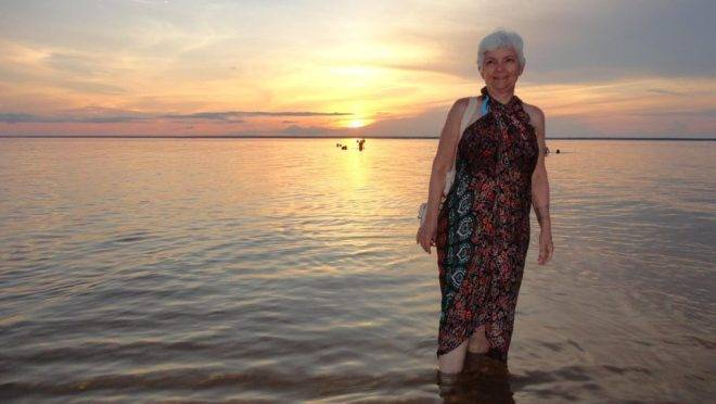 Durante um ano, a aposentada Ana Laura Queiroz passou por 26 estados brasileiros e conheceu 120 cidades.