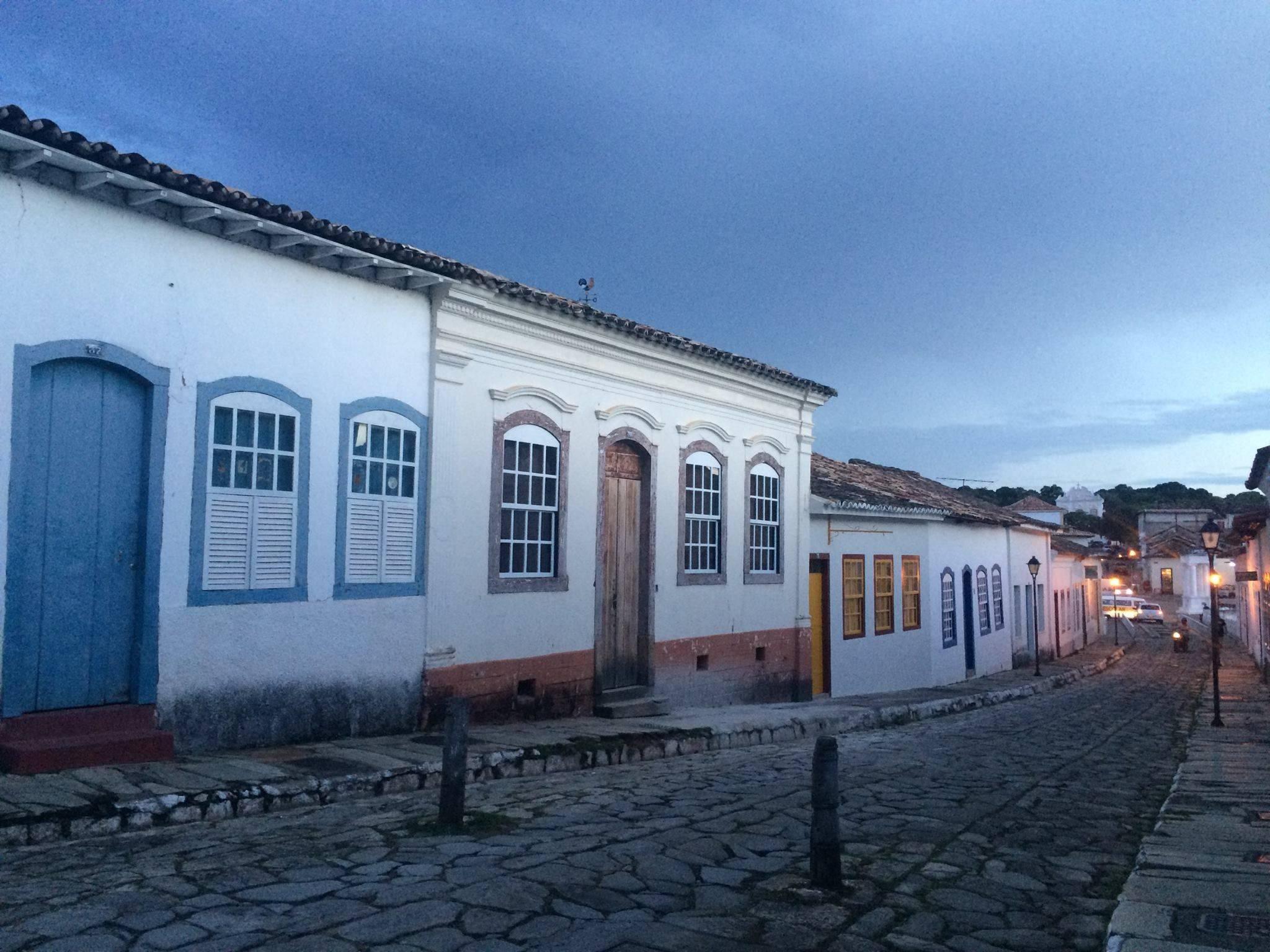 """Em Goiás e nas paisagens pelo caminho """"minha mentalidade foi se modificando em relação às coisas materiais"""", conta Ana Laura. Foto: Arquivo pessoal."""