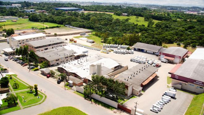 A fábrica principal da Risolotândia fica em Araucária, na Região Metropolitana de Curitiba.