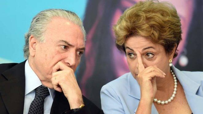 """Temer disse em entrevista que não apoiou o """"golpe"""" contra Dilma Rousseff"""