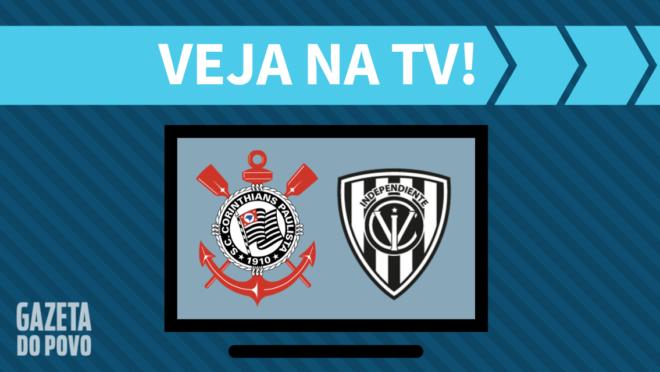 Corinthians x Independiente del Valle: veja na TV