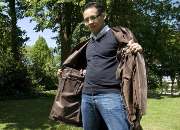 Os casacos são dobráveis e viram uma mala de mão. Foto: Jaktogo/Reprodução