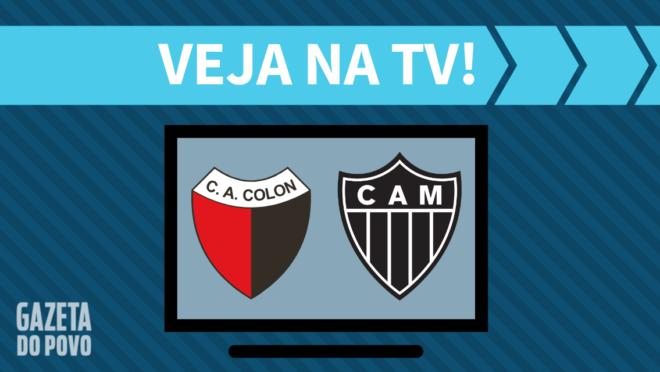 Colón x Atlético-MG: veja na TV
