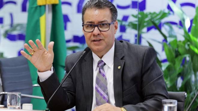 Deputado Capitão Augusto (PL-SP), relator do pacote anticrime na Câmara dos Deputados: abandono.