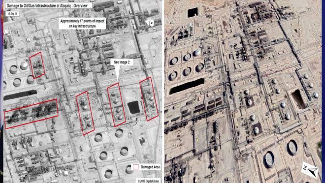 Ataques a instalações de petróleo na Arábia Saudita