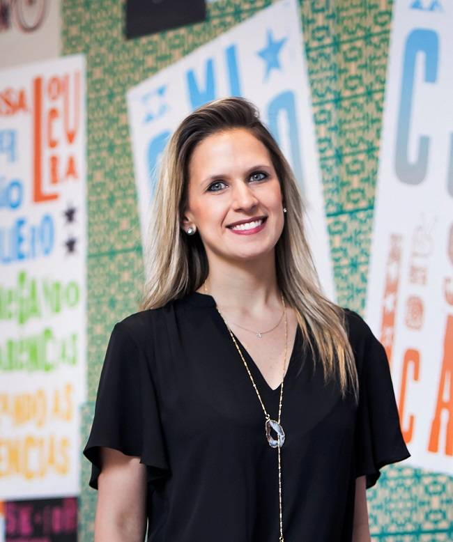 Renata Zanuto, head do centro de inovação