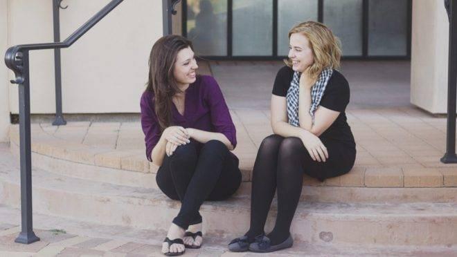 Joanna Duka e Breanna Koski: liberdade de não expressar mensagens que contrariem a fé.