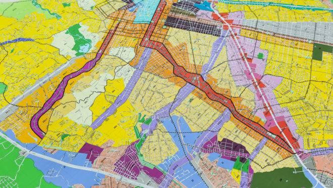 Mapa Lei de Zoneamento
