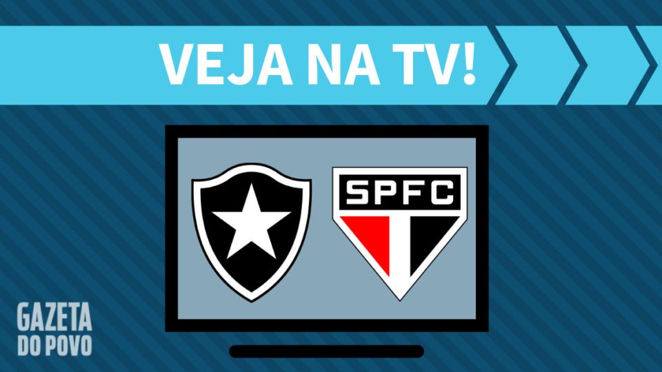 Botafogo x São Paulo AO VIVO: saiba como assistir ao jogo na TV