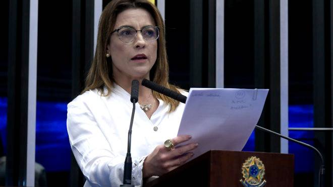 Senadora Soraya Thronicke (PSL-MS)