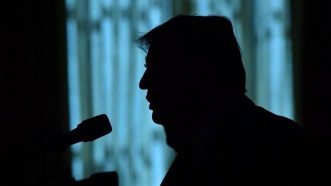 O presidente dos EUA, Donald Trump, em coletiva de imprensa na Casa Branca, Washington, 20 de setembro de 2019