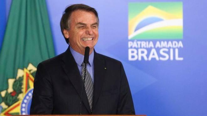 O presidente Jair Bolsonaro participa da Solenidade de Sanção do da Lei da Liberdade Econômica.