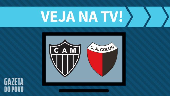 Atlético-MG x Colón: veja na TV