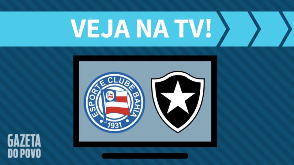 Bahia x Botafogo AO VIVO: saiba como assistir ao jogo na TV