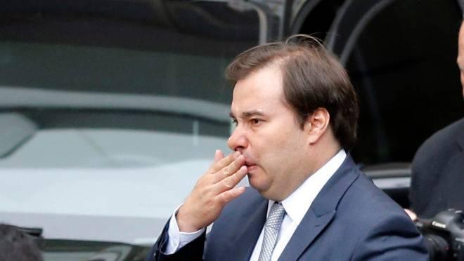 O presidente da Câmara dos Deputados, Rodrigo Maia (DEM-RJ): insatisfação com os parlamentares é crescente.