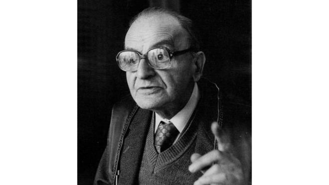 O filosofo romeno Constantin Noica.