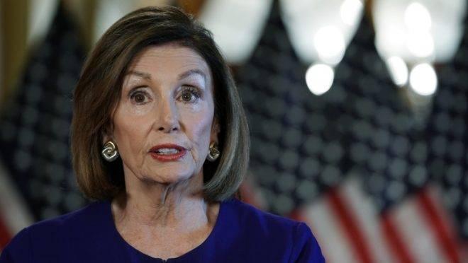 A líder da Câmara dos Representantes dos EUA, a democrata Nancy Pelosi