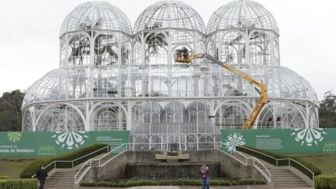 Reforma no Jardim Botânico: estufa vai reabrir em outubro