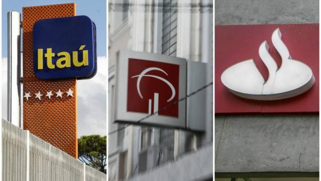 Bancos Itaú Bradesco Santander