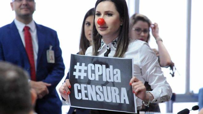 Deputada federal Caroline de Toni (PSL-SC): CPI das Fake News