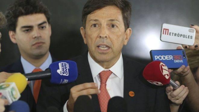 O presidente do partido Novo, João Amoedo.