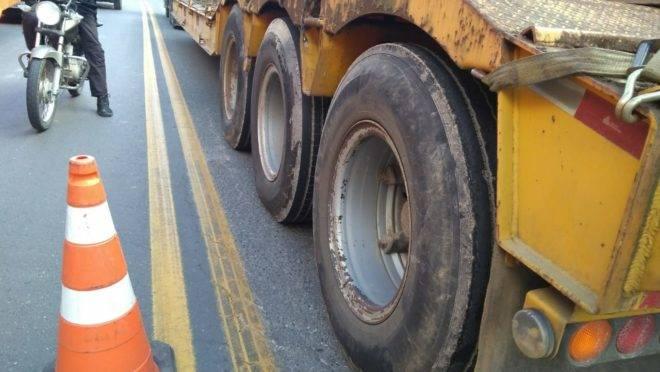 Acidente na Rodovia dos Minérios, em Curitiba