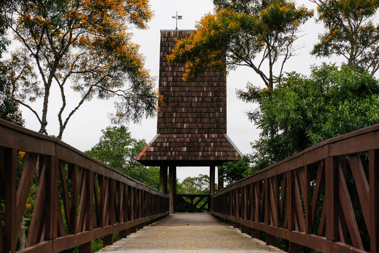 O Mirante do Bosque do alemão será reaberto para visitação neste sábado (29).