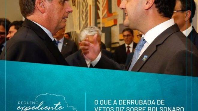 Podcast: o que significam as derrubadas dos vetos de Ratinho Junior e Bolsonaro?