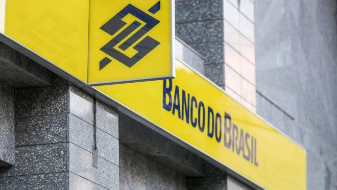 Fachada de agência do Banco do Brasil